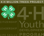 4-H Youth Development Program: Million Trees Project